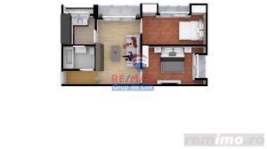 Apartament cu 3 camere | 55mp| Comision 0%|  Direct de la dezvoltator - imagine 3
