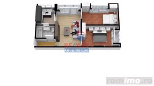 Apartament cu 3 camere | 55mp| Comision 0%|  Direct de la dezvoltator - imagine 4