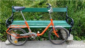 Bicicleta portabila oras - livrare doar in Bucuresti  - imagine 2