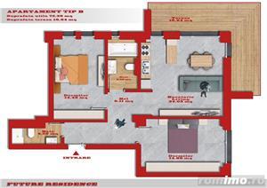 Giroc - Bl. Nou - Ap. Cu 2 Si 3 Camere - Lift - Parcare - Terase - Finisaje Premium - imagine 3