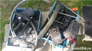 bicicleta  saxonette   cu motor pe benzina - imagine 6
