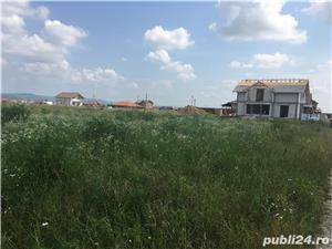Teren 537mp Cihei in zona strazii Traian, drum pietruit, front stradal 17.5m - imagine 7