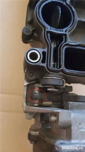 Galerie de admisie completa cu motoras vrianta metal dupa 2009 2.0 TDI  - imagine 3