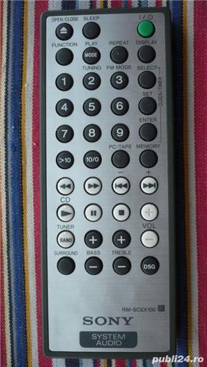Telecomanda SONY diverse modele pt.audio combina,portabile - imagine 3