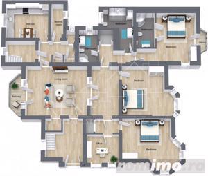 Piata Victoriei - Apartament superb nemobilat 190 mp - imagine 1