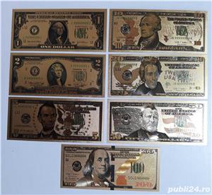 Bancnote Dolari aur - imagine 1