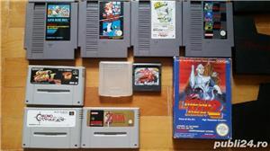 30  jocuri SNES , NES , N64,SEGA GEAR , vintage,COLECTIE - imagine 3