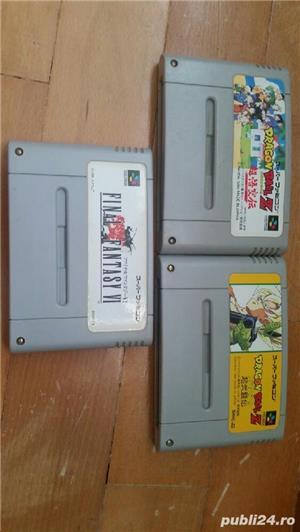30  jocuri SNES , NES , N64,SEGA GEAR , vintage,COLECTIE - imagine 6