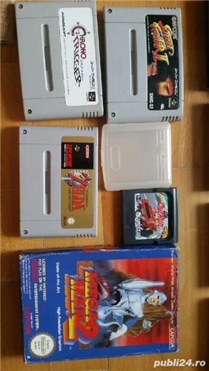 30  jocuri SNES , NES , N64,SEGA GEAR , vintage,COLECTIE - imagine 8