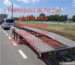 Transport auto pe platforma - imagine 4