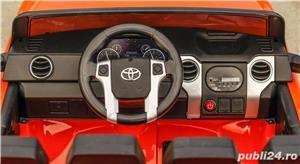 Masina Toyota Tundra 2x45W 12V 7Ah PREMIUM, Scaun tapitat, ROTI MOI #Orange - imagine 9