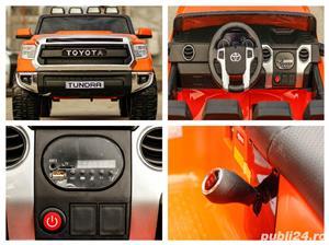 Masina Toyota Tundra 2x45W 12V 7Ah PREMIUM, Scaun tapitat, ROTI MOI #Orange - imagine 6