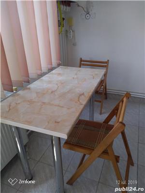 masa bucatarie+2 scaune - imagine 1