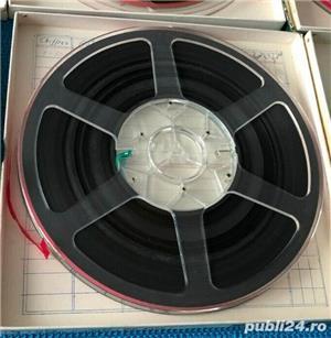 Banda Magnetofon SCOTCH 26cm rola policarbonat ,trident(BASF, Revox) - imagine 2