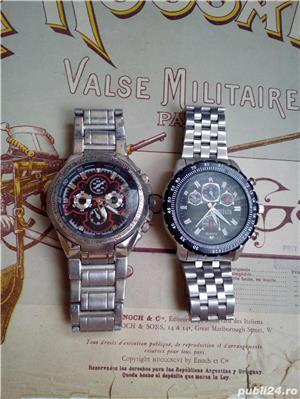 2 ceasuri bărbăteşti, masive, stare bună, funcţionale - imagine 5