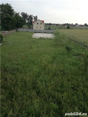 Vand teren cu fundatie si proiect pt casa, in Tarian - imagine 2