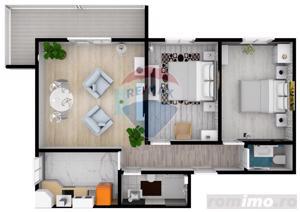 Apartament cu 3 camere | COMISION 0% | DEZVOLTATOR - imagine 2