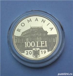 Set monede proof 100 de ani Marea Unire Alexandru M. - editie limitata - imagine 3