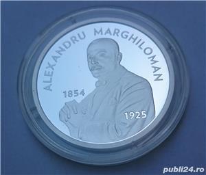 Set monede proof 100 de ani Marea Unire Alexandru M. - editie limitata - imagine 4