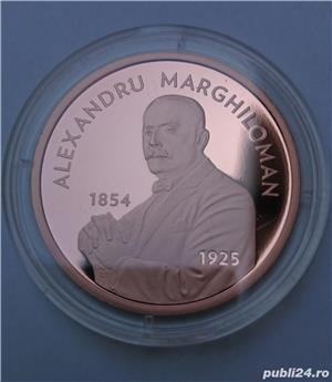 Set monede proof 100 de ani Marea Unire Alexandru M. - editie limitata - imagine 5