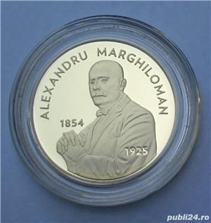 Set monede proof 100 de ani Marea Unire Alexandru M. - editie limitata - imagine 2