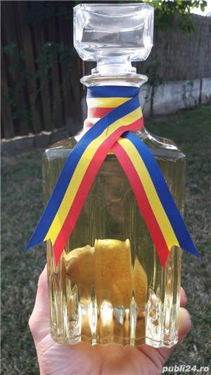 Para in sticla cu palinca - imagine 1