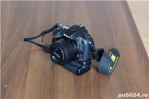 Nikon D600 Full Frame impecabil + grip + obiectiv Nikon 50mm f1.8 - imagine 3