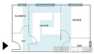 Apartament cu 2 camere în zona Romanilor. - imagine 7