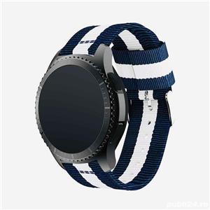 Curea pentru Huawei GT2, GT2e, GT2 pro Samsung gear s3, watch, 22mm marimea L - imagine 3
