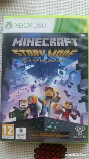 joc XBOX 360 , Minecraft , Minecraft Story Mode - imagine 1