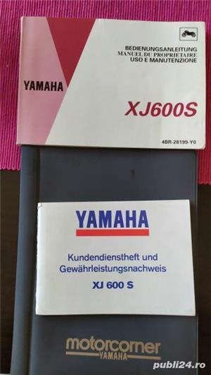 Yamaha XJ600S - imagine 7