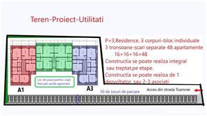 """Teren Bloc=48 apartamente,2-3 Blocuri16+16+16=48 ap)incadrat program """"Prima casă""""/""""O familie,o casă"""" - imagine 6"""