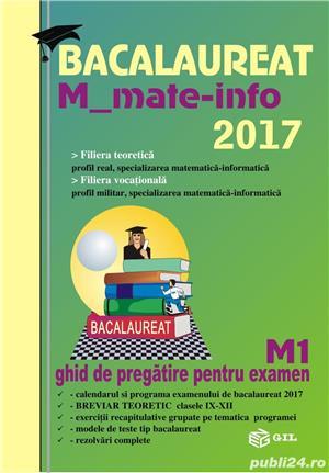 Carti de matematica- ghid de pregatire pentru examen - imagine 2