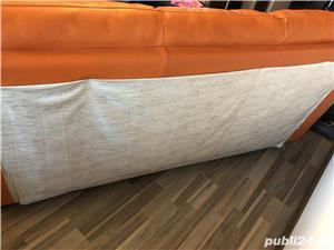 Vând canapea piele Mobexpert - imagine 2