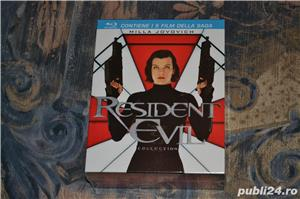 Film - The Resident Evil Collection [5 Filme - 5 Discuri Blu-Ray] - imagine 1