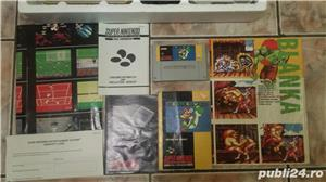 consola SNES,super nintendo,cutie,colectie,super mario world - imagine 6