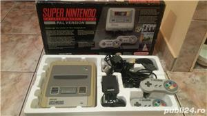 consola SNES,super nintendo,cutie,colectie,super mario world - imagine 8
