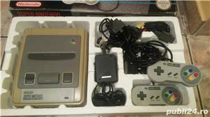consola SNES,super nintendo,cutie,colectie,super mario world - imagine 9
