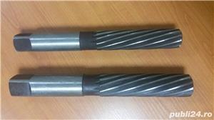 Alezoare de caliate noi de la Ø 3 la Ø 32 mm. Romanesti si germane, cilindrice si conice - imagine 2