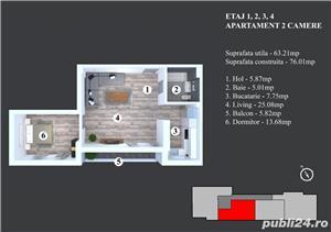 2 Camere Militari - Bloc Nou - Zona Blv. Timisoara - Moinesti - imagine 1