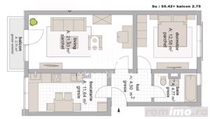 Apartament 4 camere pe doua niveluri INTABULAT zona Pictor Brana - imagine 5