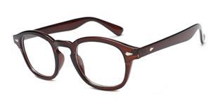 Rama ochelari Moscot Lemntosh - Animal Print - Johnny Depp Style - imagine 2
