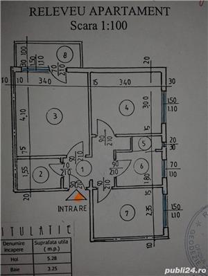 Proprietar, apartament 3 camere, decomandat, et. 2/4 , zona Vest Lamaita / Baraolt - imagine 3