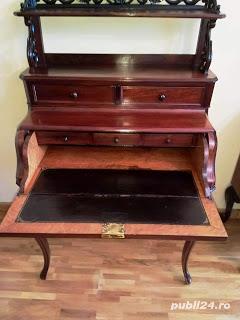 secretaire din lemn de palisandru - imagine 3