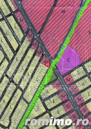 Teren la 34 Pasi 25 Metri 18 Secunde Statia METROU Laminorului POT 60% / CUT 2,5 - imagine 4