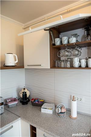 Regim hotelier: apartament cu 2 camere, amenajari lux, zona Girocului (Str.Mures) - imagine 10
