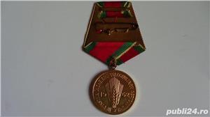 Medalie In Cinstea Incheierii Colectivizarii Agriculturii  1962 - imagine 2