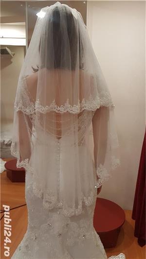 Vand rochie de mireasa model sirena - imagine 9