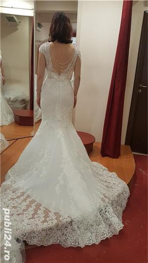 Vand rochie de mireasa model sirena - imagine 5