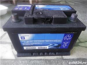 Acumulator Original GM 12V/60Ah/510A curent pornire - imagine 1
